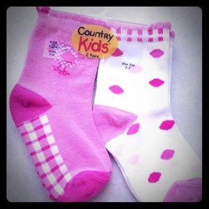 Country Kids Socks 2 Pair